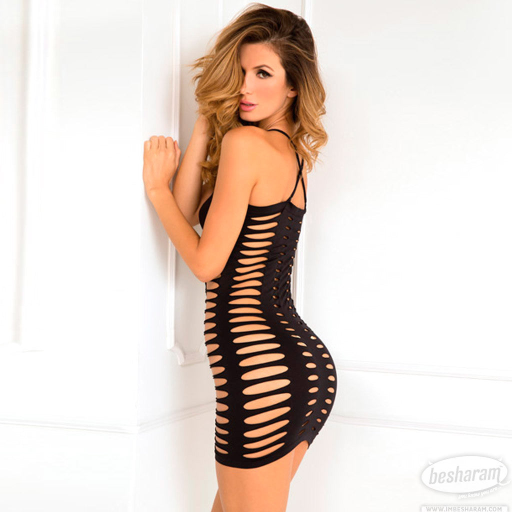 Rene Rofe Sexy Side Slash Seamless Dress main image 2