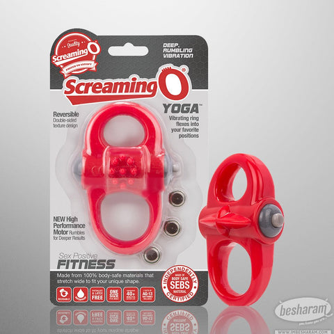 Screaming O Yoga Versatile Vibrating Ring