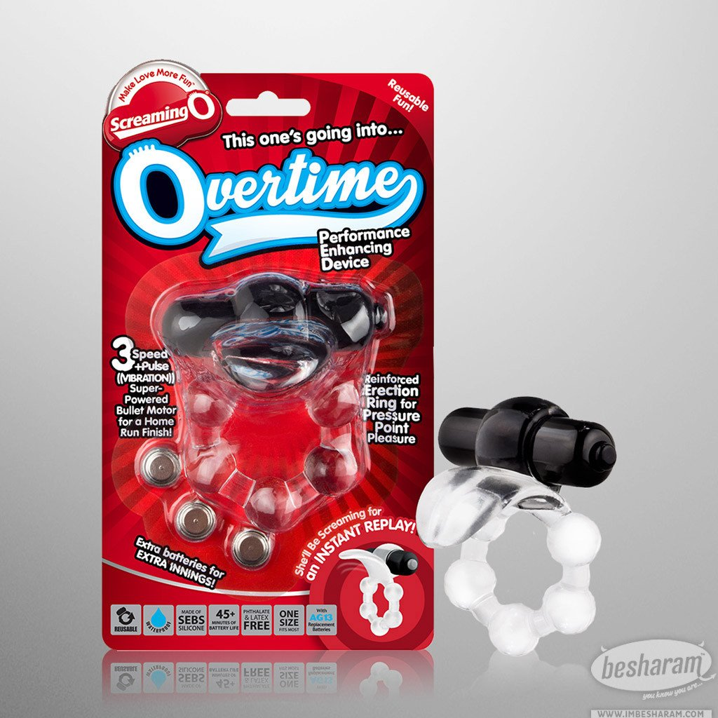 Screaming O Overtime Vibrating Erection Ring main image 1