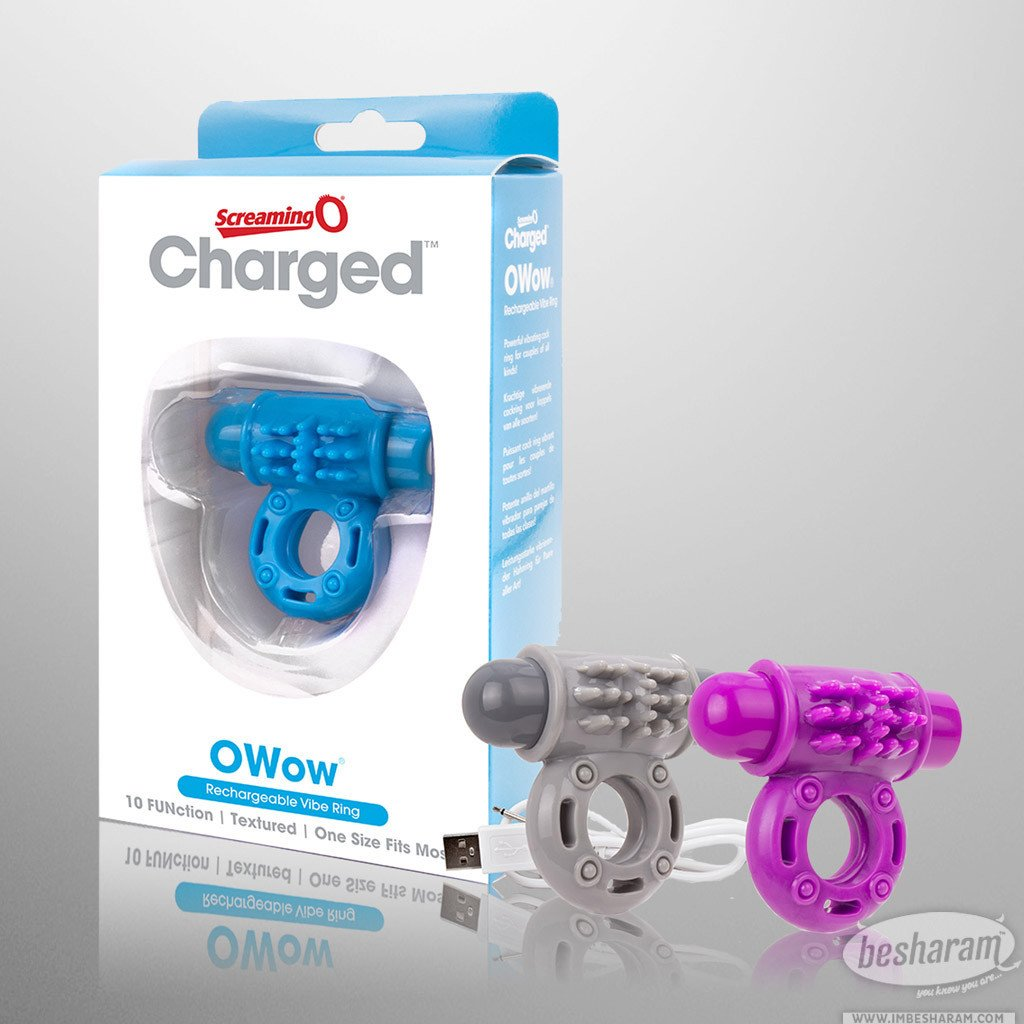 Screaming O OWow Rechargeable Vibrating C-Ring main image 1