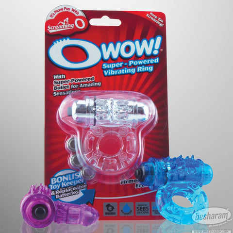 Screaming O O Wow Vibrating Ring
