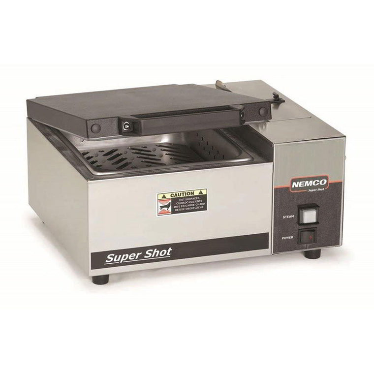 "Nemco 6600 16.5"" Sandwich Steamer w/ Manual Water Fill, 120v - demodsl"