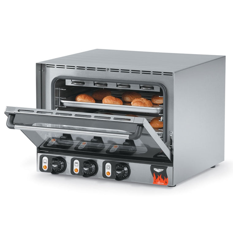 Vollrath 40703 Half-Size Countertop Convection Oven, 120v - demodsl