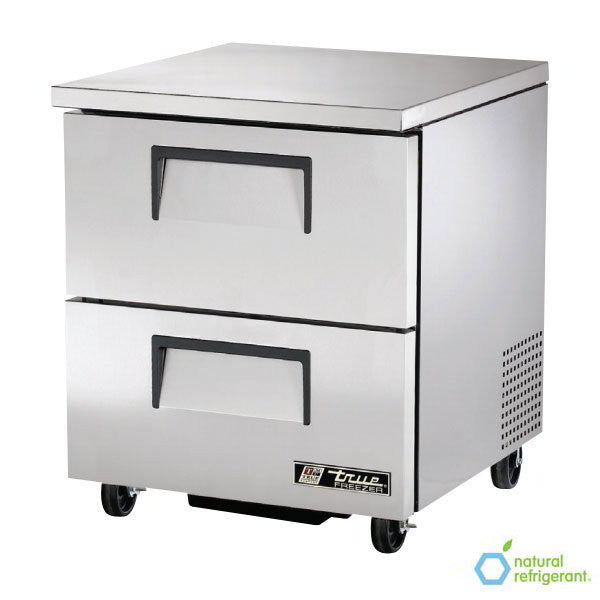 True TUC-27F-D-2-HC 6.5-cu ft Undercounter Freezer w/ (1) Section & (2) Drawers, 115v - demodsl