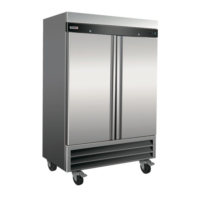 "Centaur CSD-2DR-BAL 54"" Two Section Reach-In Refrigerator, (2) Solid Doors, 115v - demodsl"