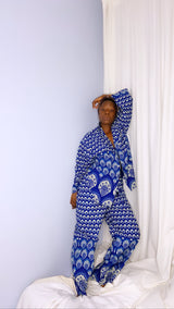 Blue Shells Unisex Oversized Set