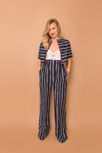 Estelle Wide-Leg Pants