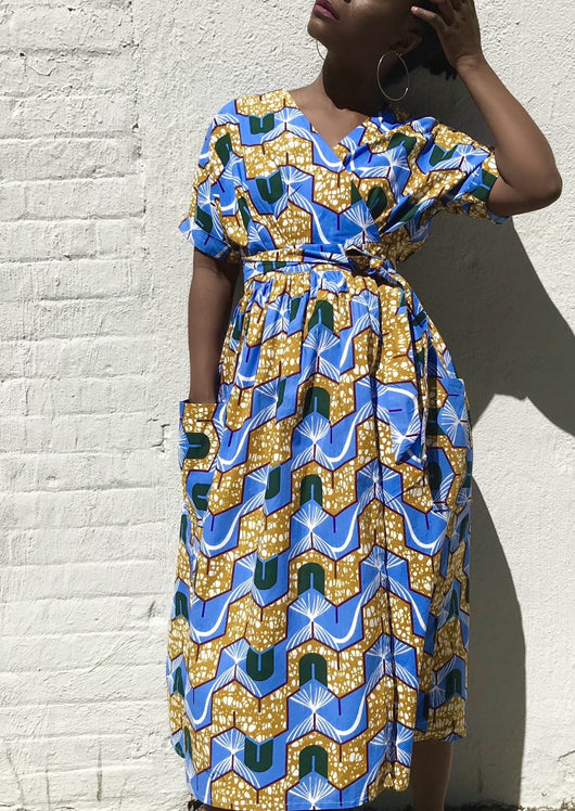 The Patience Wrap Dress