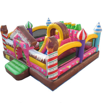 candyland castle for rent inflatables
