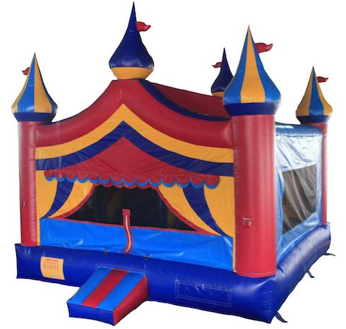 big carnival themed bouncy castle inflatable