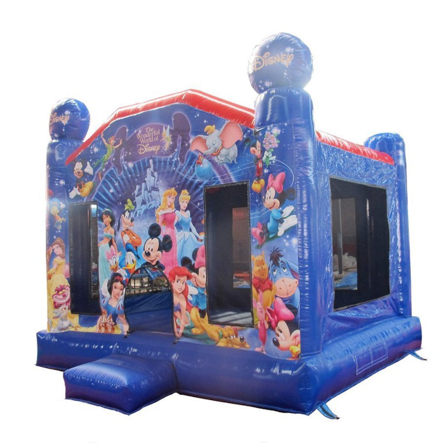disney themed princess bouncy castles