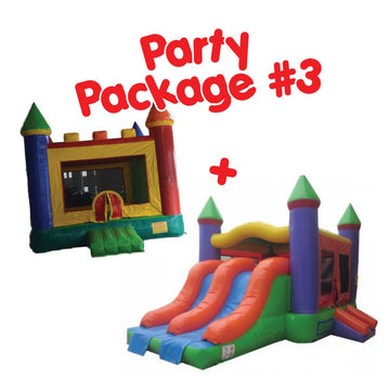 bouncy castles package