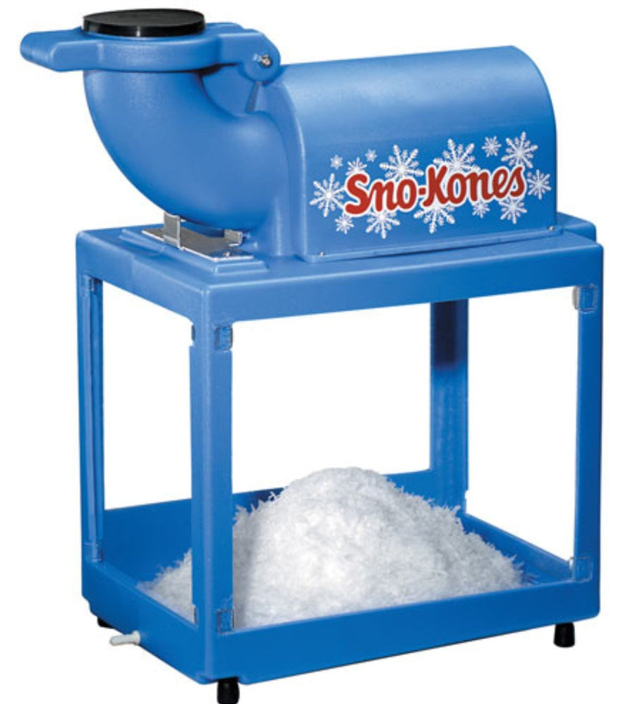 snow cone machine birthday party food