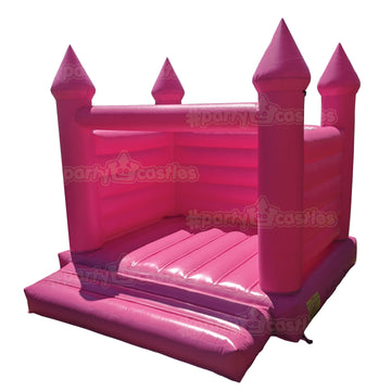 all pink bubblegum bouncy castle