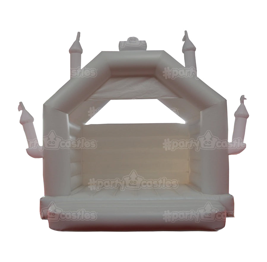 white wedding castle with watermarks