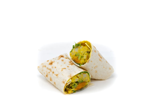 Cashew Curried Vegetable Wrap