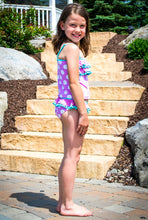 "Momo Grow Girls 4-12 Two Piece ""Rae"" Tankini Swimsuit"