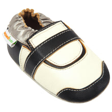 Momo Baby Boys Soft Sole Leather Crib Bootie Shoes - Golf Shoe