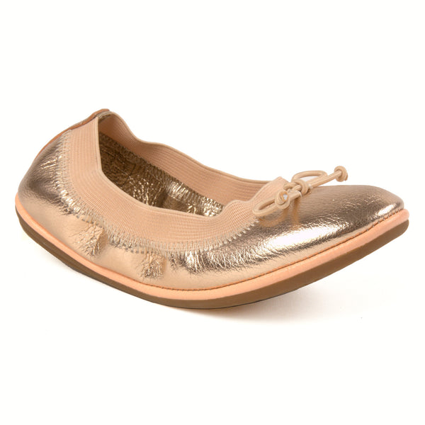 "Momo Grow Girls ""Layla"" Foldable Ballet Flat Shoes (Toddler & Little Girl)"