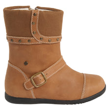 "Momo Grow Girls ""Bailey"" Leather Boots (Toddler)"