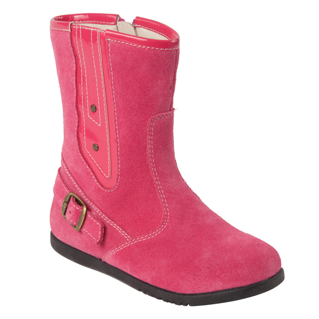 "Momo Grow Girls ""Sydney"" Leather Boots (Toddler)"