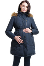 "Momo Maternity ""Nori"" Hooded Down Parka Coat"