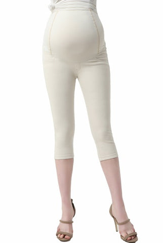Momo Maternity Women's Capri Jeggings