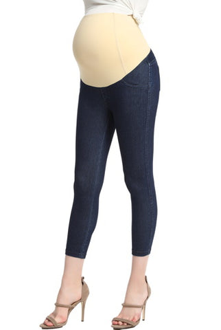 Momo Maternity Women's Cropped Jeggings