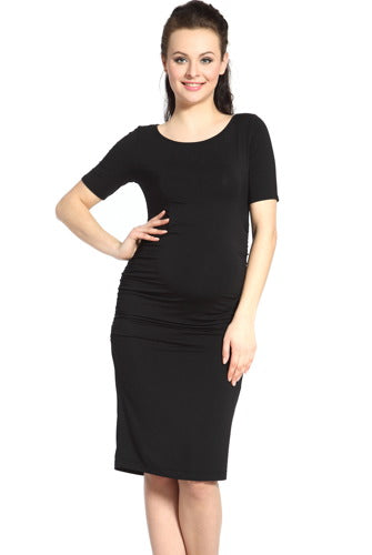 Momo Maternity Ruched Dress