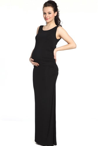 Momo Maternity Tank Column Dress
