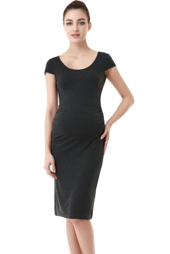 a273cdbbab7e2 Maternity Women's Fitted Tee Dress | Momo Maternity – MOMOBABY
