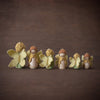Sweet Elm steiner Waldorf wooden fairy doll wings in colours of Australia