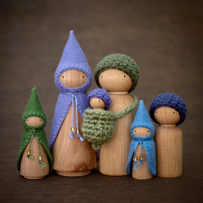 Blueberry Wee Folk Sets