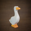 holztiger wooden goose animal toy