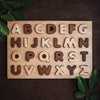 educational and wooden alphabet letter puzzle from qtoys australia