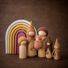 Raduga Grez Oval Rainbow stacker with Sweet Elm Outback Wee Folk