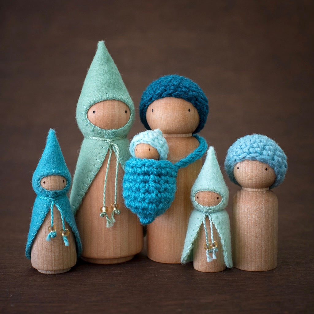 Seaside Wee Folk Sets