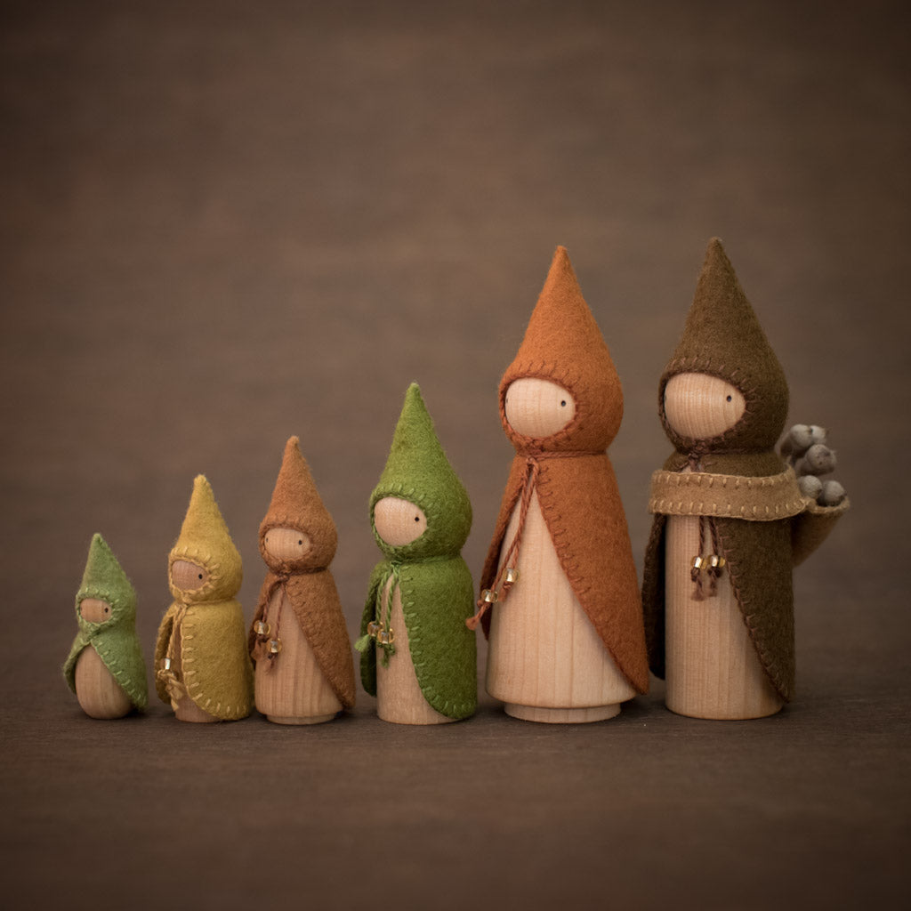 Forest Gnomes Build a Set
