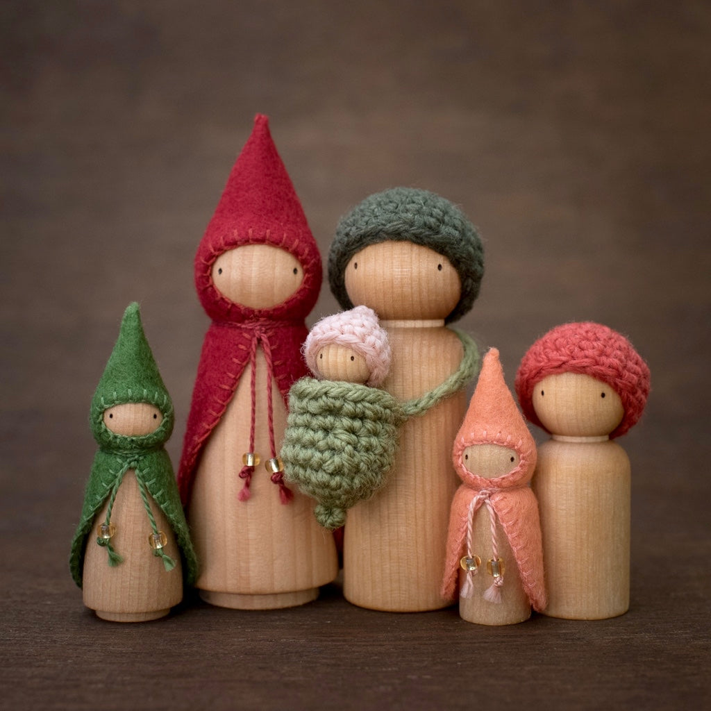 Strawberry Wee Folk Sets