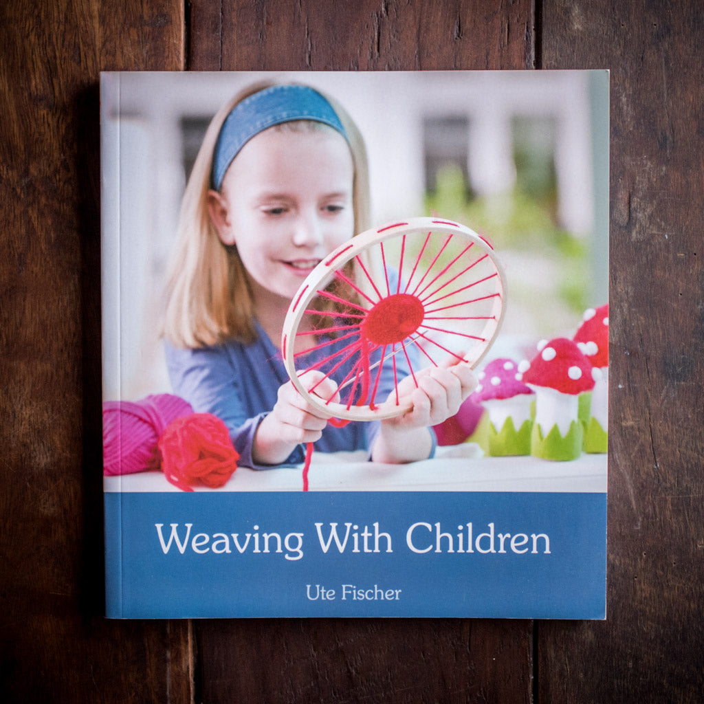 Front cover of book Weaving with Children.