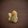 Sweet Elm Australian wooden fairy baby in yellow