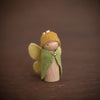 Sweet Elm Australian wooden fairy child in yellow