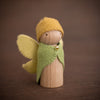 Sweet Elm Australian wooden fairy father in yellow