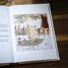 The Hazelnut boys rescued by a boat from Elsa Beskow
