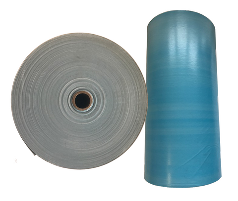 "Poly Coated 18"" Masking Paper, BLUE, 1500ft."