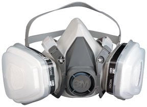 3M - 7179 Dual Cartridge Paint Spray Respirator Packout, Large