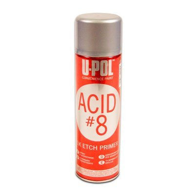 U-POL Acid #8 Black Etch Primer 450ml