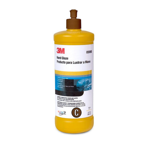 3M Hand Glaze Imperial Car Polish - 1 quart