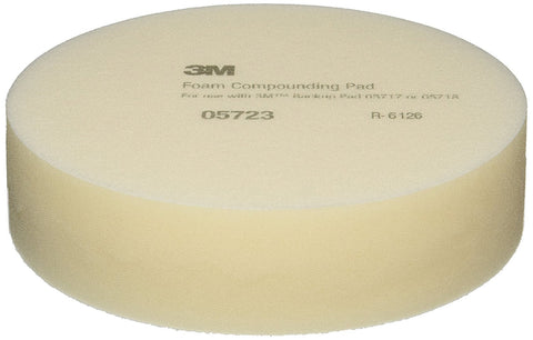 "3M - 8"" Foam Compounding Pad, Pack of 2"