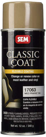 SEM 17063 Classic Coat Medium Prairie Tan